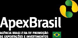 Logo da Apex Brasil